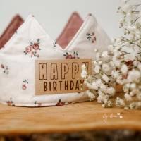 Freebook Krone - nähe eine Geburtstagskrone für jedes Alter zum Binden in Einheitsgröße! Bild 6