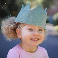 Freebook Krone - nähe eine Geburtstagskrone für jedes Alter zum Binden in Einheitsgröße! Bild 9