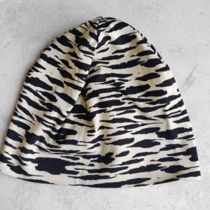 Mütze, Loop und Stirnband im Zebra Look Bild 4