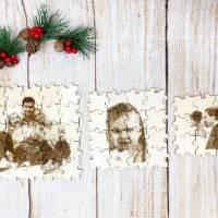 Foto als Puzzle, Weihnachtsgeschenk für Sie oder Ihn, dein eigener Text oder Bild in Form eines Puzzles Bild 10