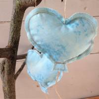 Luftballons aus Stoff hellblau Bild 7