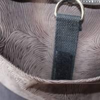 kleiner Rucksack/ Backpack/ Foldover/ Leder/ Unikat Bild 3