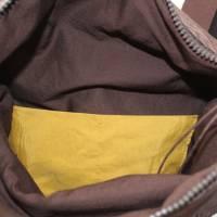 kleiner Rucksack/ Backpack/ Foldover/ Leder/ Unikat Bild 5