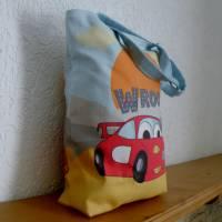 Kindergartentasche aus Canvas / Wechselwäsche / Schule / Kindergarten / Besuch bei Oma und Opa / personalisierbar Bild 3
