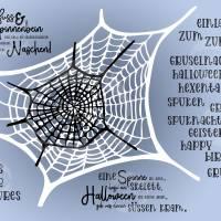 Digi-Papier Spinnweben, Halloween-Papier für Plotter, Schneidedatei Spinnennetz, 36 mal digitales Papier für Halloween Bild 4