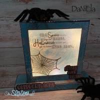 Digi-Papier Spinnweben, Halloween-Papier für Plotter, Schneidedatei Spinnennetz, 36 mal digitales Papier für Halloween Bild 7