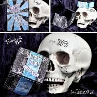 Digi-Papier Spinnweben, Halloween-Papier für Plotter, Schneidedatei Spinnennetz, 36 mal digitales Papier für Halloween Bild 9