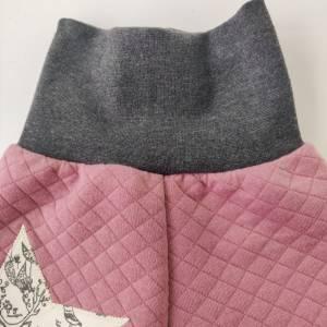 Baby Pumphose  aus Steppstoff  in rosa Bild 5