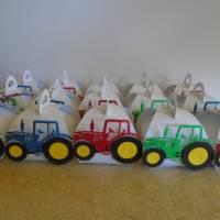 Adventskalender Traktor Weihnachtskalender Kinder Junge Zierschachteln Schachteln zum Befüllen Landwirtschaft Bild 1