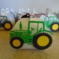 Adventskalender Traktor Weihnachtskalender Kinder Junge Zierschachteln Schachteln zum Befüllen Landwirtschaft Bild 3
