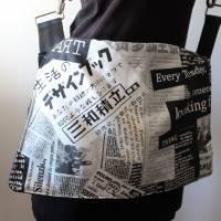 Jeanstasche Upcycling / Handtasche / Umhängetasche / Schultertasche / Recycling / Handmade / Unikat Bild 1