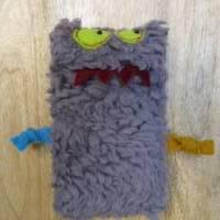 Süßes Monster Taschentuchtäschchen Bild 1