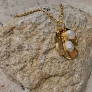 Kette Halskette Sommer Perlen Zuchtperlen Süßwasserzuchtperlen Bild 2