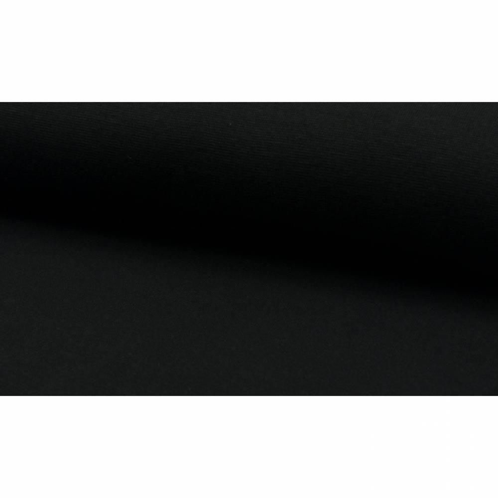 7,00EUR/m Bündchen schwarz Bild 1