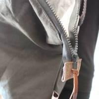 Seesacktasche / Ledertasche / Upcycling / Foldover /  Umhängetasche / Schultertasche / Recycling / Handtasche / Unikat Bild 8