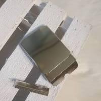 Gürtelschnalle Klemmschnalle 40 mm silber Bild 1