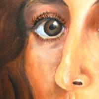 Ihr Wunschtraum – Original Ölmalerei im Schattenfugenrahmen • Unikat Bild 2