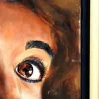 Ihr Wunschtraum – Original Ölmalerei im Schattenfugenrahmen • Unikat Bild 5