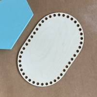 Ovale Häkelböden in verschiedenen Größen (20 / 25 / 30 cm) Bild 3