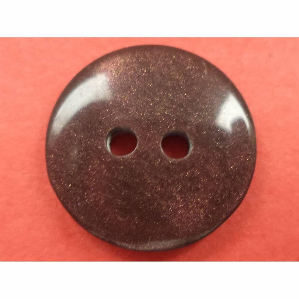dunkelbraune Knöpfe 15mm (2087) Bild 1