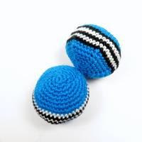 Jonglierball, Häkelball, Stressball, Foot sack, Kickball, Foot ball Bild 1