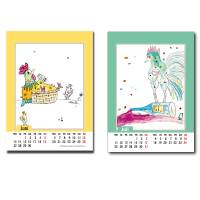 Kalender 2022 Monatskalender Verrückte Hühner, Din A5, Wandkalender  Bild 8