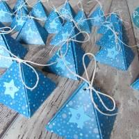 """Adventskalender """"Blaue Pyramiden"""" aus der Manufaktur Karla Bild 3"""
