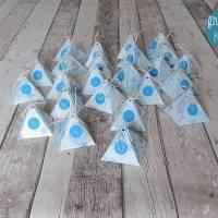 """Adventskalender """"Blaue Pyramiden"""" aus der Manufaktur Karla Bild 5"""