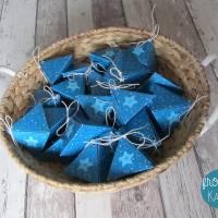 """Adventskalender """"Blaue Pyramiden"""" aus der Manufaktur Karla Bild 7"""