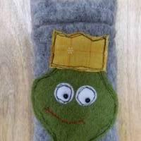 Taschentuchtäschchen mit Froschmotiv Bild 1