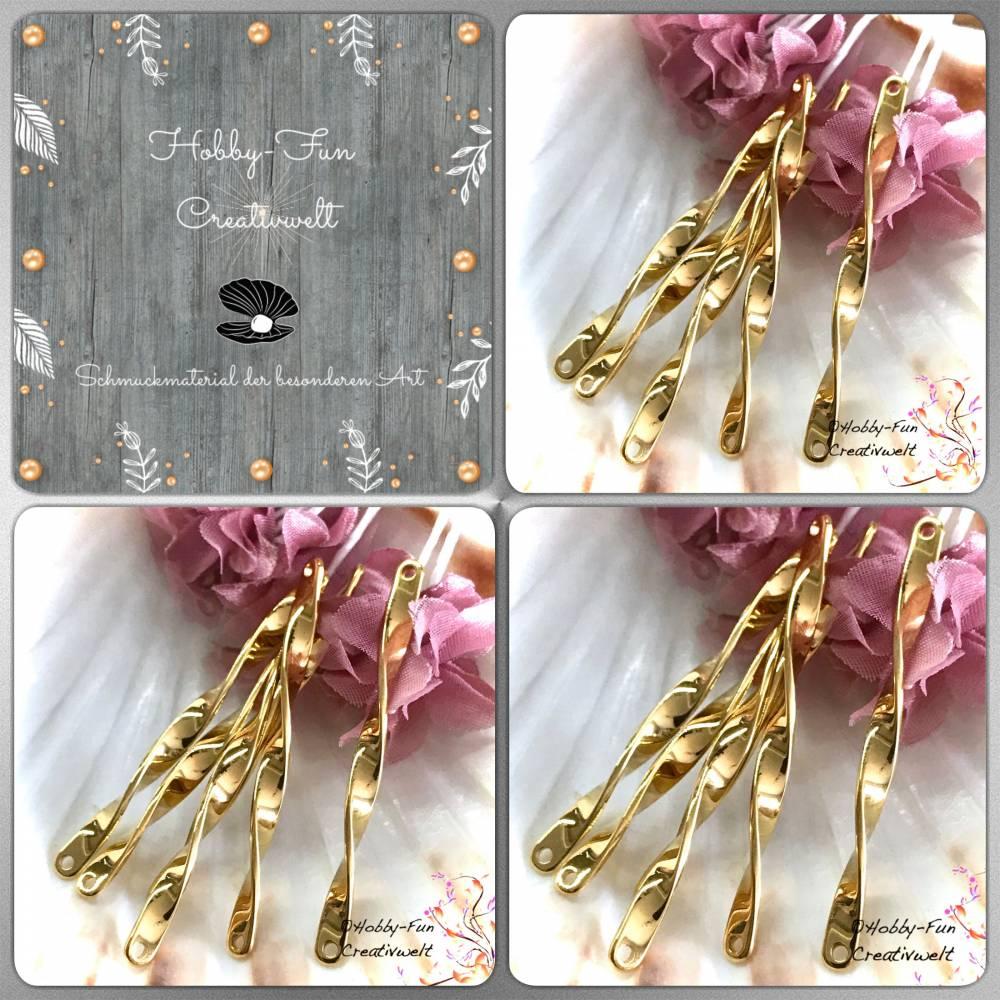 HFC21151-Vb: Goldfarbene Spiegel-Verbinder Bild 1