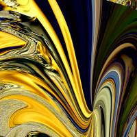 Facettenreich 2 – edles Digital-ART Kunstwerk 1/10  – Design  Ulrike Kröll Bild 2