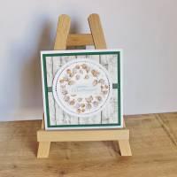 """Geburtstagskarte, Glückwunschkarte """"Physalis"""" aus der Manufaktur Karla Bild 2"""