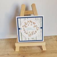 """Geburtstagskarte, Glückwunschkarte """"Physalis"""" aus der Manufaktur Karla Bild 5"""