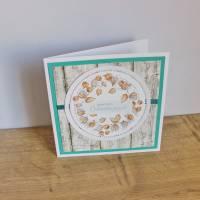 """Geburtstagskarte, Glückwunschkarte """"Physalis"""" aus der Manufaktur Karla Bild 7"""