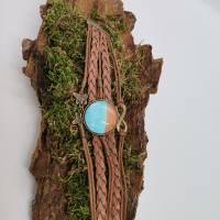 Cabochon Armband braun  Bild 2