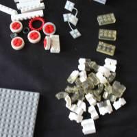großes LEGO Konvolut 70er Jahre Dachsteine Fenster Bild 10