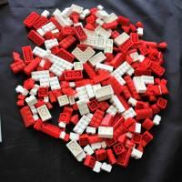 großes LEGO Konvolut 70er Jahre Dachsteine Fenster Bild 2