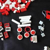 großes LEGO Konvolut 70er Jahre Dachsteine Fenster Bild 9