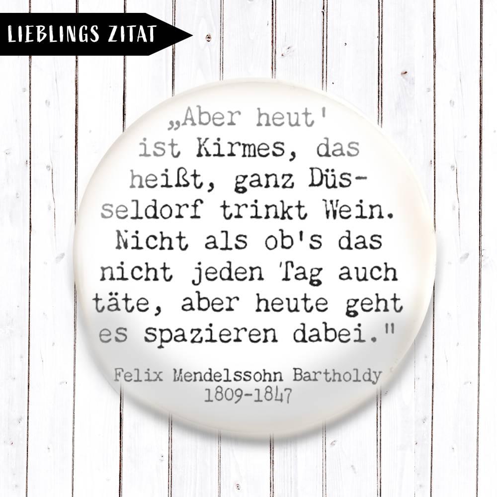 Zitat Felix Mendelssohn Bartholdy Magnet  Bild 1