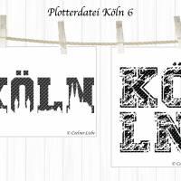 Plotterdatei Köln 6 Bild 2