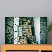 das Fenster Alu-Print 30 x 40 cm hochwertige Alu-Dibond Platte Wandbild Kunstdruck Bild 1