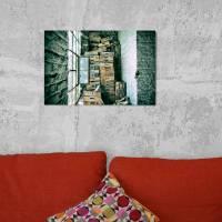 das Fenster Alu-Print 30 x 40 cm hochwertige Alu-Dibond Platte Wandbild Kunstdruck Bild 2