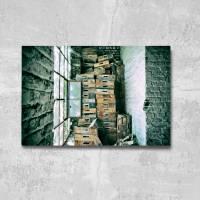 das Fenster Alu-Print 30 x 40 cm hochwertige Alu-Dibond Platte Wandbild Kunstdruck Bild 3