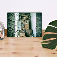 das Fenster Alu-Print 30 x 40 cm hochwertige Alu-Dibond Platte Wandbild Kunstdruck Bild 4