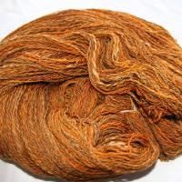 210 gr 100% Wolle austr. Merino handgesponnen 2-fach gesamt 504 mtr LL Nadel 4,5-5  Bild 1