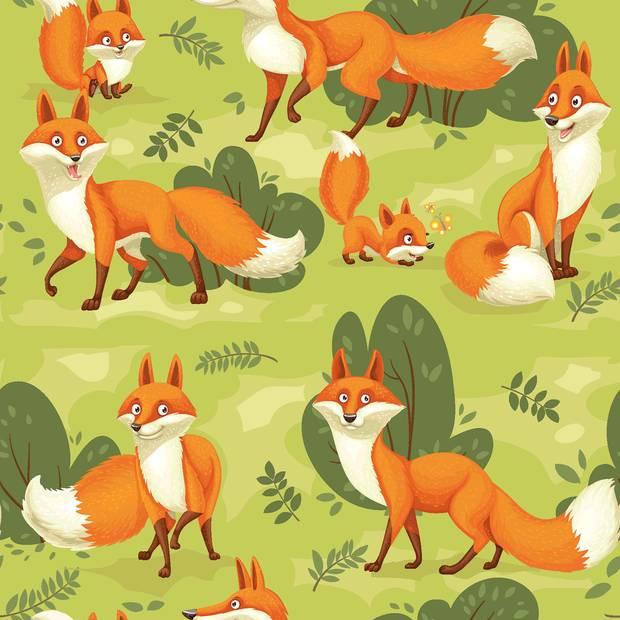 Softshell  mit Fleece -  Abseite, Fuchs hellgrün ( 1m/13,00€ ) Bild 1