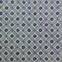 "Italienisches Papier - CARTA VARESE Design CV132 - ""Stellafiore blu"" Bild 2"