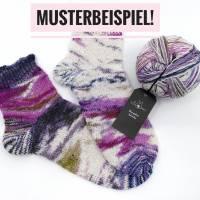 Wunderklecks Sockenwolle von Schoppel in Fuji lights Bild 2
