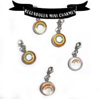 Unikat Regenbogen Mini Charme Bild 1